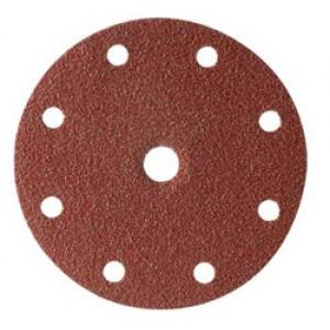 138416Б Абразивный круг COARSELINE 9 отв. P80 (100 шт), 138416Б, 28 р., , CarSystem, Абразивные круги