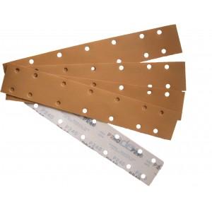 136622 Шлифовальная  бумага 70 х 420 мм 14 отв. Р60 (100 листов), , 17 р., , CarSystem, Шлифовальные полосы