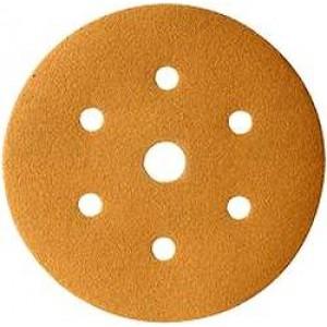 137452 Абразивный круг MASTERLINE 6 отв. P400 (100 шт), , 10 р., , CarSystem, Абразивные круги