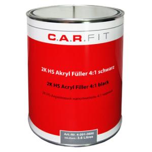 4-200-3600 CF 2К Акриловый грунт-наполнитель HS 4:1 серый 3,6 л+отвердитель 0.9 л, 4-201-3600, 47 р., , Carfit, Грунт