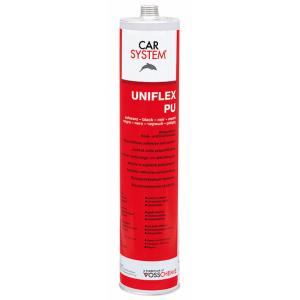148924 Полиуретановый герметик Uniflex -PU (310мл)черный, , 6 р., , CarSystem, Герметик и антигравий