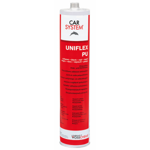 148923 Полиуретановый герметик Uniflex-PU (310мл) белый, , 6 р., , CarSystem, Герметик и антигравий