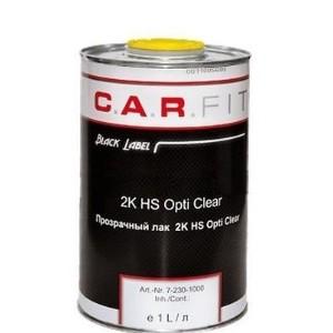 7-230-1000 CF 2К Прозрачный лак HS Opti Clear 1л, 7-230-1000, 6 р., , Carfit, Лак