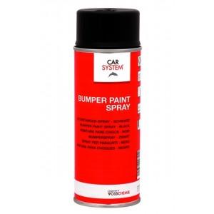 142821 Адгезионный грунт-краска Bumper Paint Spray -  для пластика черный, 400мл, , 5 р., , CarSystem, Спреи