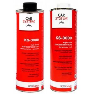 152621 KS-3000 Антигравийное покрытие с высоким содержанием сухого остатка белое, окрашиваемое 1л