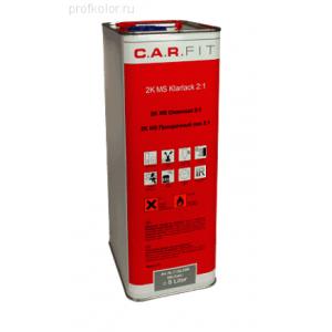 7-250-5000 CF Лак прозрачный MS Plus (5л) Быстрый, 7-250-5000, 28 р., , Carfit, Лак