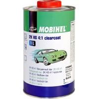MOBIHEL – 2K HS 4:1 бесцветный лак (1 л. + 0.5 л.) комплект