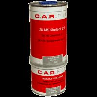CarFit (7-150-1500) Прозрачный лак MS 1 л + 0,5 л.