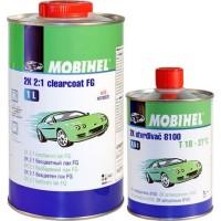 MOBIHEL - 2К 2:1 бесцветный лак (1 л. + 0,5 л.) FG anti scratch комплект