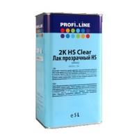 PROFI_LINE Лак прозрачный HS + отвердитель