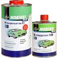MOBIHEL - 2К акриловый бесцветный лак anti-scratch (1 л. + 0,5 л.) FG anti scratch комплект
