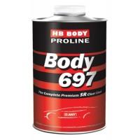 HB Body - Лак PROLINE 697 2:1 SR + Отвердитель PROLINE 620 бесцветный комплект