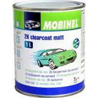 MOBIHEL – 2К бесцветный матовый лак low voc (1 л. + 0.5 л,) комплект