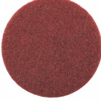 Нетканый абразивный матирующий круг AVF 320 (красный) диа. 150мм SMIRDEX (шт.) (шт.)