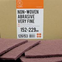 ROXELPRO - Нетканый абразивный материал 152х229мм very fine, красный