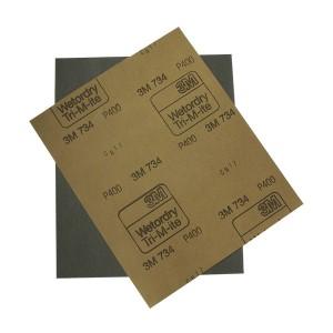 3М - Водостойкая наждачная бумага 230х280мм. 1шт.