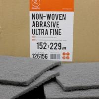 ROXELPRO - Нетканый абразивный материал 152х229мм ultra fine, серый