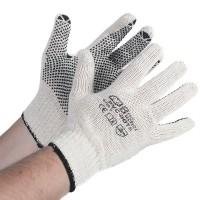 Перчатки AB, х/б вязаные с противоскользящими точками, пара