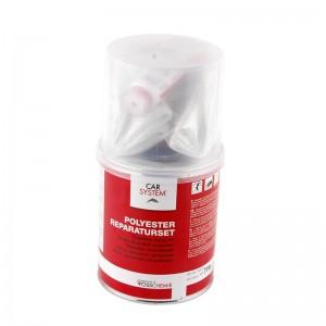 2-220-0250 CarFit Набор для ремонта пластиков (смола 250 мл, стеклоткань)