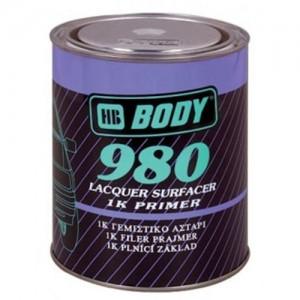 Body 980 Грунт серый 1 кг, , 6 р., , HB Body, Грунт