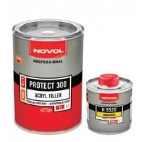 NOVOL-Protect 300 MS 4+1 - акриловый грунт белый комплект