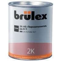 BRULEX- 2К-HS-Порозаполнитель 4+1 (светло-серый) комплект