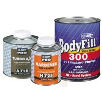 HB Body -Грунт-наполнитель 300 3:1 2К + Отвердитель H725 серый комплект