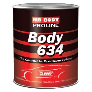 Body 634 Грунт economy 4:1 серый (0,8 л) + 625 отв. economy (0,2 л), , 7 р., , HB Body, Грунт