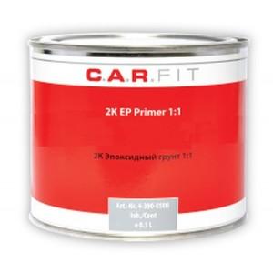 4-390-0500 CARFIT - 2K 1:1 Эпоксидный грунт + отвердитель, комплект, 4-390-0500, 9 р., , Carfit, Грунт