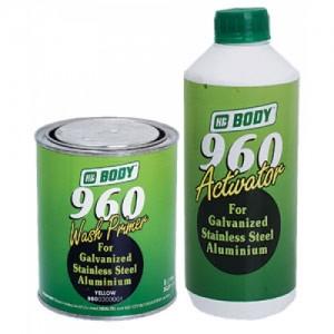 Body 960 Грунт желто-зеленый 1 л + отв. 960 1 л, , 14 р., , HB Body, Грунт