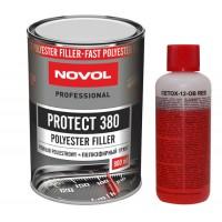 NOVOL - protect 380 полиэфирный грунт ( 0,8л + 0,08л) комплект