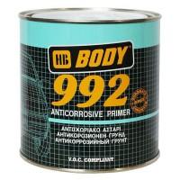 HB BODY - 992 1K Грунт антикоррозионный быстросохнущий Серый