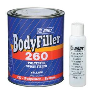 Body 260 Грунт Filler Polyester с отв. 1,65 кг, , 9 р., , HB Body, Грунт