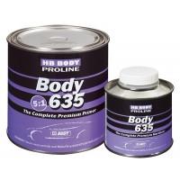 HB Body - 635 Грунт Proline 5:1 комплект Cерый