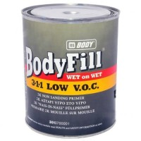 HB Body - Грунт-наполнитель 3:1:1 WET on WET 2К + Отвердитель H725 серый комплект