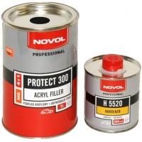 NOVOL-Protect 300 MS 4+1 - акриловый грунт серый комплект