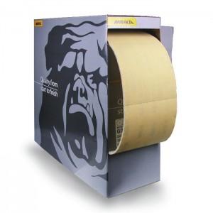 MIRKA - GOLDFLEX-SOFT Шлиф материал на бумажной основе 115x125мм,  упаковка 200 шт.