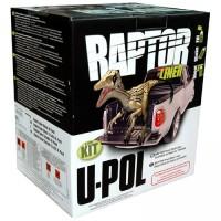 U-POL - RLB/S4 Raptor 2k 3:1 защитное покрытие повышенной прочности - чёрное 4+1