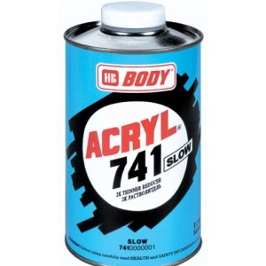 HB Body - Разбавитель 741 ACRYL SLOW, , 0 р., , HB Body, Растворители