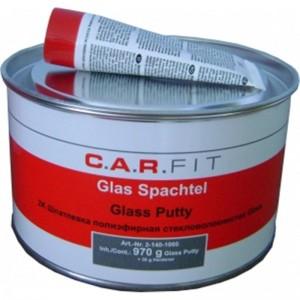 CarFit (2-140-1000) 2К Шпатлевка ПЭ Glass 1 кг, , 4 р., , Carfit, Шпатлевка