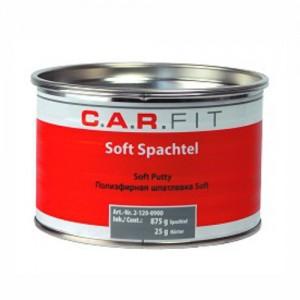 CarFit (2-120-0500) 2К Шпатлевка ПЭ Soft 0,5 кг, 2-120-0500, 2 р., , Carfit, Шпатлевка