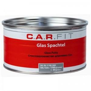 CarFit (2-140-1800) 2К Шпатлевка ПЭ GLASS 1,8 кг, , 6 р., , Carfit, Шпатлевка
