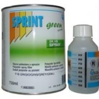 Шпатлевка жидкая Sprint F18 Spray 1л/1,6кг