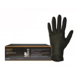 JetaPro Перчатки нитриловые, цвет черный L; XL; M