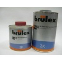 Brulex Лак 2К HS прозрачный Премиум комплект 1 л+0,5 л