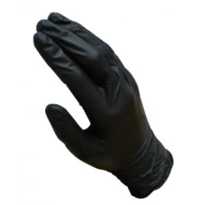 3-260-0350 CF Перчатки нитриловые черные размер (100шт)
