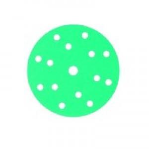 145098 Абразивный круг GREENLINE GRIP 150 mm 15 отв P600