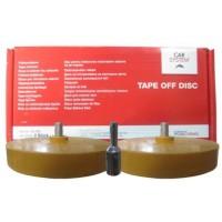 152013 Набор дисков  Premium для удаления лент (2 диска + адаптер)