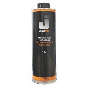 JetaPro Антигравийное покрытие черное спрей 0.5 л