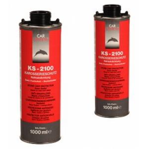 140146 KS-2100 Антигравийное покрытие-герметик (черный)  1л